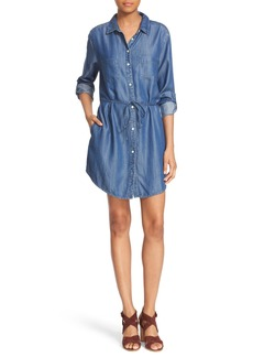 Soft Joie 'Lilyana' Roll Sleeve Shirtdress