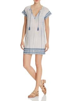 Soft Joie Megdalyn Embroidered Tie-Dye Dress