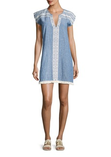 Soft Joie Natali Embroidered Mini Dress