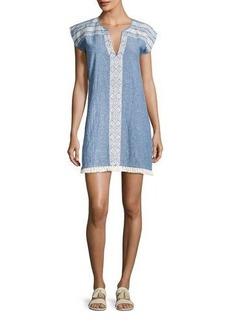 Soft Joie Natali Embroidered Mini Dress