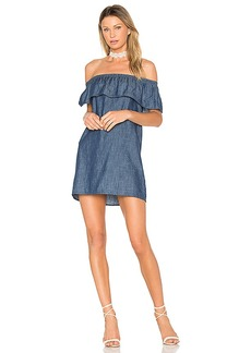 Soft Joie Nilima Dress in Blue. - size L (also in M,S,XS)