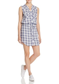 Soft Joie Noraha Plaid Shirt Dress