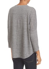 Soft Joie 'Safiya' Stripe Linen & Modal Tee