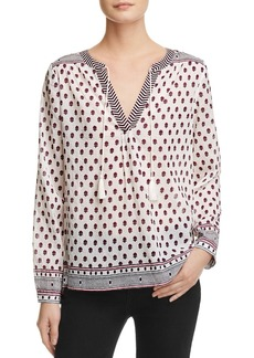 Soft Joie Sefrina Printed Peasant Blouse