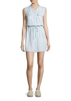 Soft Joie Tawna Sleeveless Bleached Chambray Dress