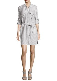 Soft Joie Willa B Striped Belted Shirtdress