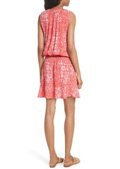 Soft Joie Zealana Print Smocked Blouson Dress