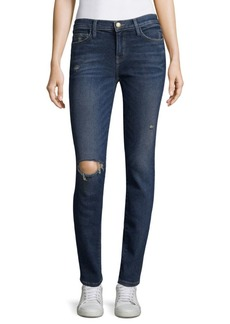Joie Stiletto Distressed Skinny Jeans