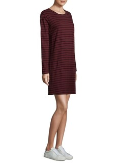 Joie Striped Shift Cotton Dress