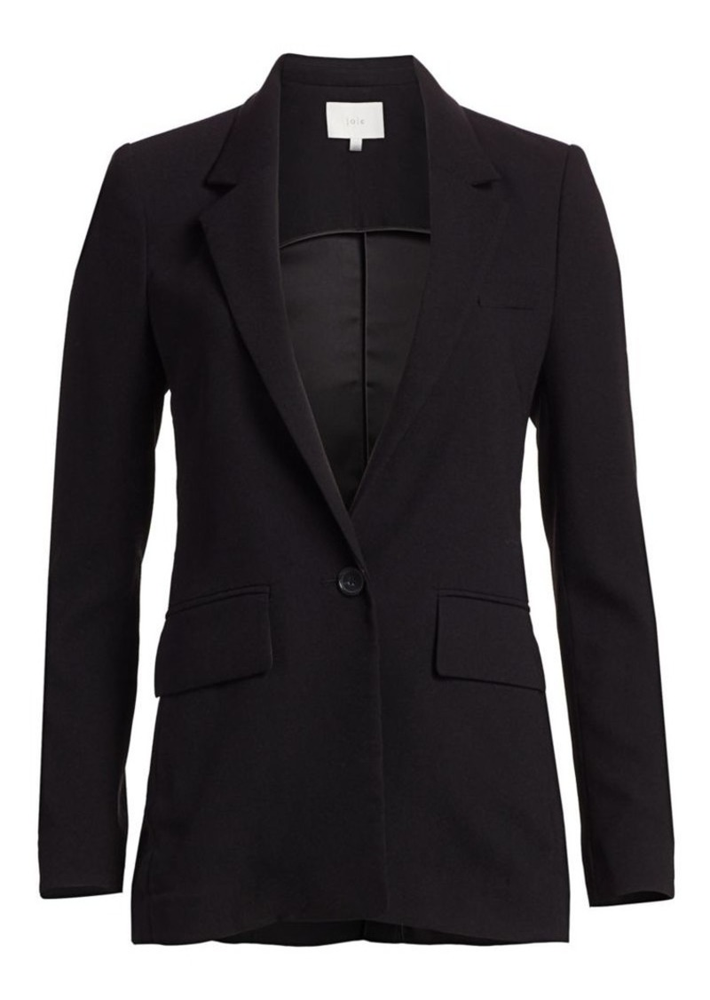 Joie Tabora One-Button Blazer