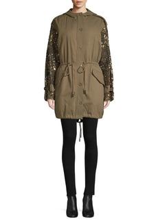 Joie Tadita Embellished Military Jacket