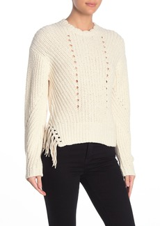 Joie Taelar Tassel Sweater