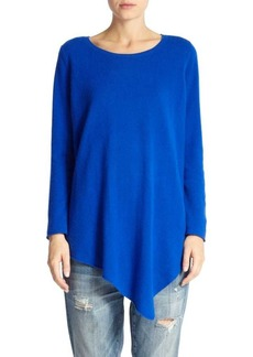 Joie Tambrel Wool & Cashmere Asymmetrical-Hem Sweater