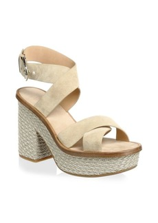 Joie Tanglee Suede Ankle-Strap Sandals