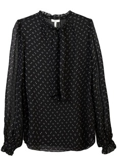 Joie triangle print blouse