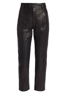 Joie Trula Leather Ankle Pants