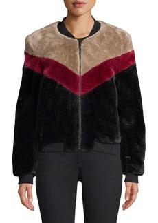 Joie Vesna Faux-Fur Bomber Jacket