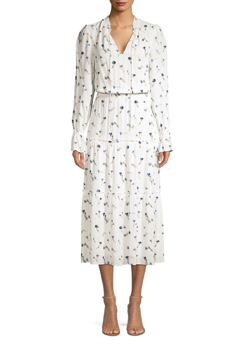 Joie Waneta Tiered Floral Dress