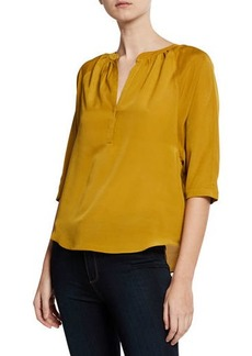 Joie Yareli V-Neck Lightweight Blouse