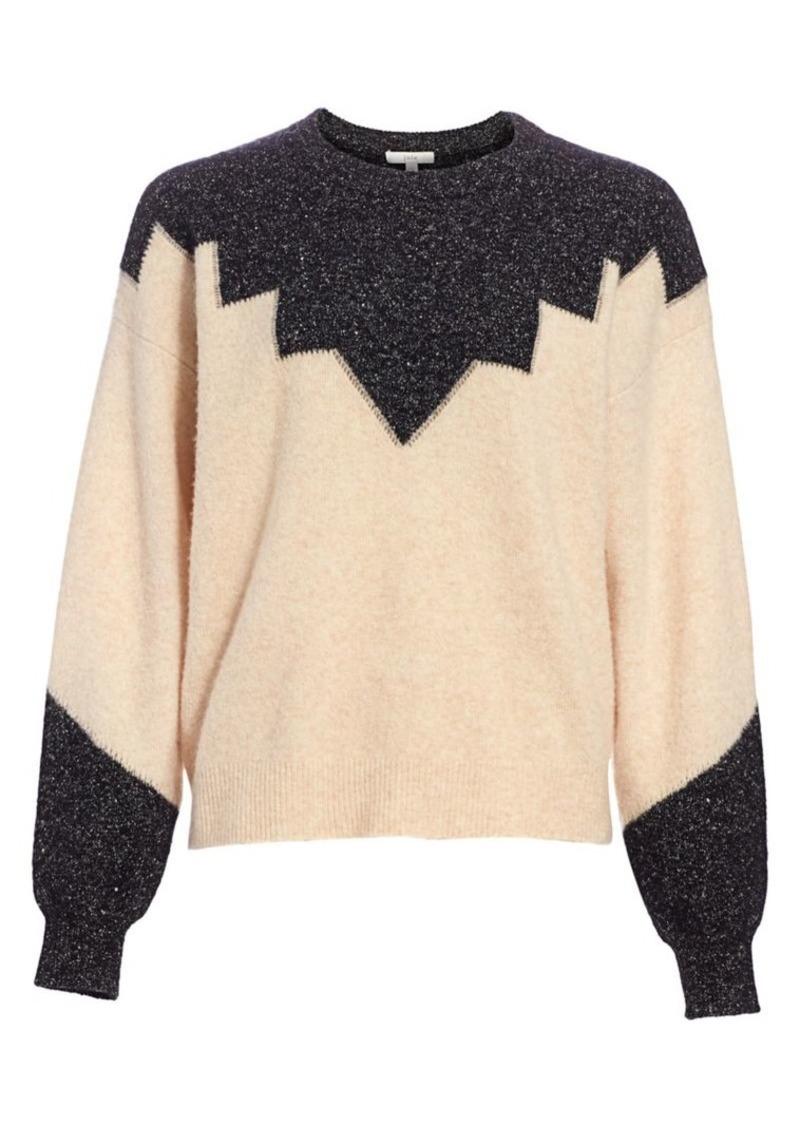 Joie Zinca Colorblock Wool-Blend Sweater