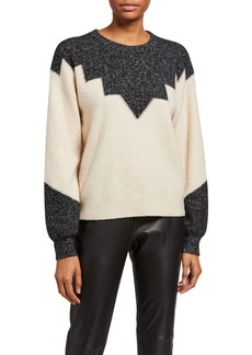 Joie Zinca Colorblock Wool Sweater
