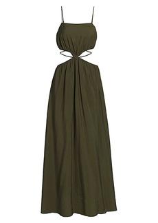 Jonathan Simkhai Amora Strap-Detail Maxi Dress
