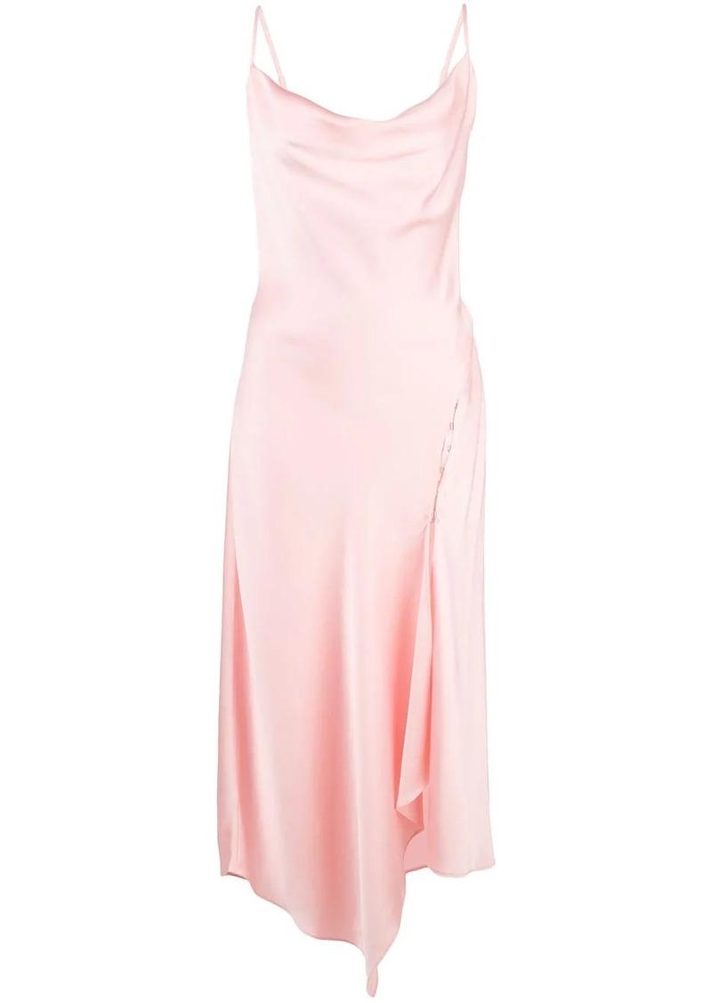 Jonathan Simkhai asymmetric cowl-neck dress