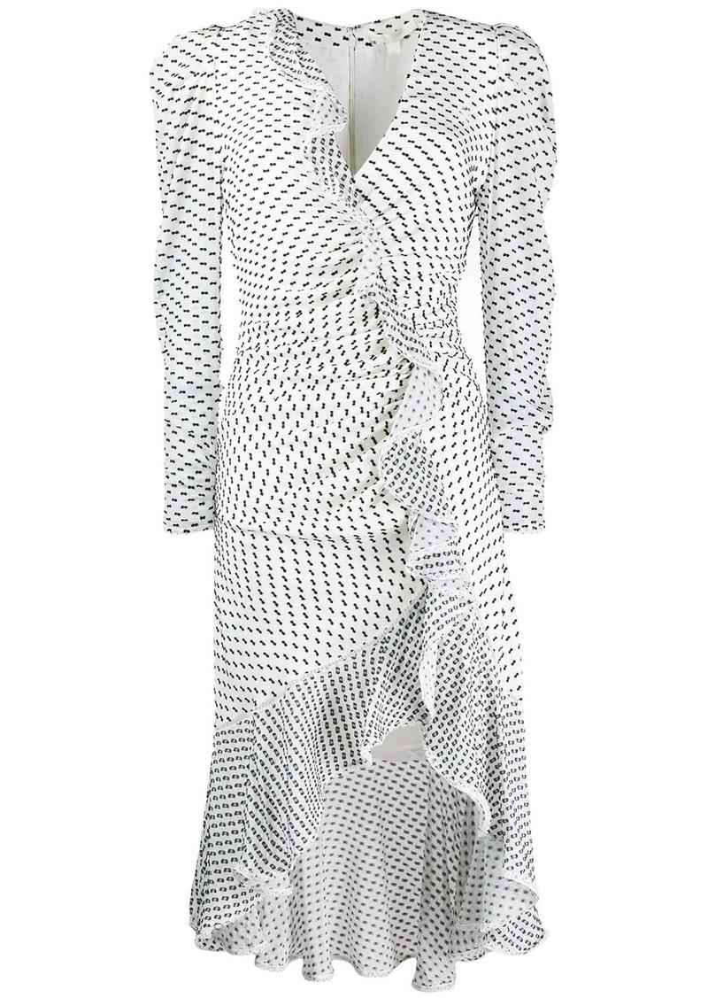 Jonathan Simkhai asymmetric ruched dress