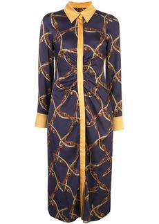 Jonathan Simkhai belt print dress