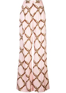 Jonathan Simkhai belt print trousers