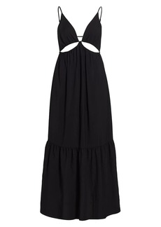 Jonathan Simkhai Calliope Solid Cutout Dress