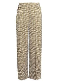Jonathan Simkhai Chain Print Split Trousers