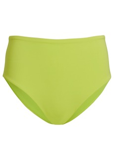Jonathan Simkhai Cora High-Waist Bikini Bottoms