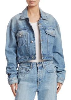 Jonathan Simkhai Cropped Denim Jacket