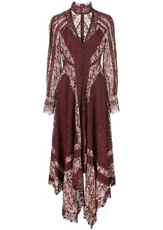 Jonathan Simkhai Embroidered Scarf Print Dress