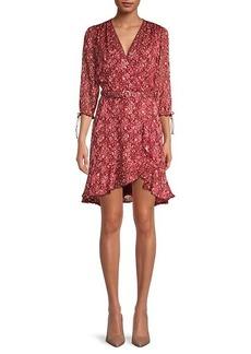 Jonathan Simkhai Floral Silk-Blend Dress