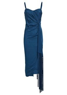 Jonathan Simkhai Frances Strapless Paisley Jacquard Dress