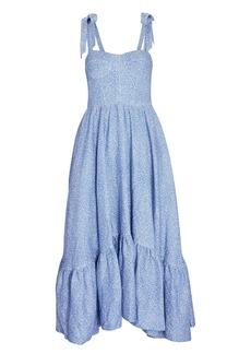 Jonathan Simkhai Georgia Bustier Midi Dress