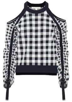 Jonathan Simkhai Gingham sweater