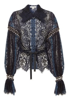 Jonathan Simkhai Grommet Lace Jacket