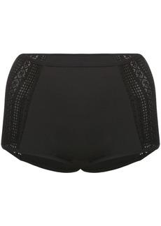 Jonathan Simkhai high-waisted crochet bikini bottoms