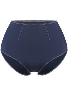 Jonathan Simkhai high waisted darted bikini bottoms