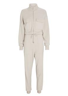 Jonathan Simkhai Iman Knit Zip-Up Jumpsuit