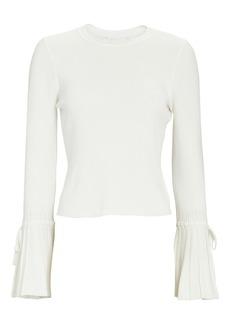 Jonathan Simkhai Iris Bell Sleeve Sweater