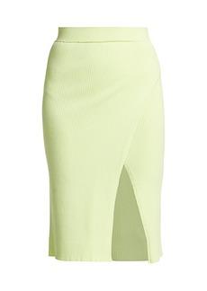 Jonathan Simkhai Jolene Knit Slit Skirt