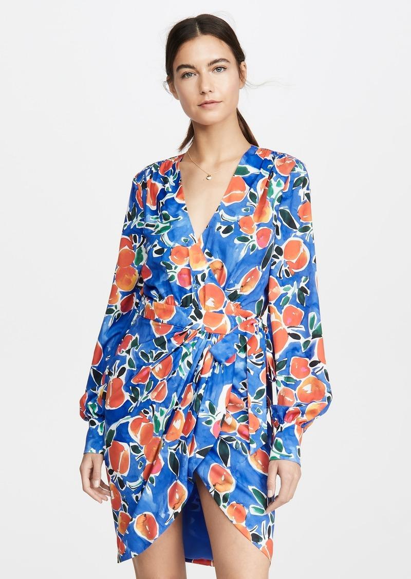 Jonathan Simkhai Acapulco Wrap Dress