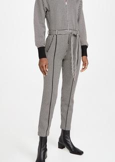 Jonathan Simkhai Annabelle Compact Knit Belted Jumpsuit