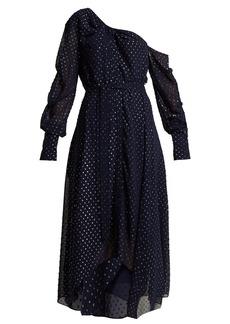 Jonathan Simkhai Asymmetric metallic dress