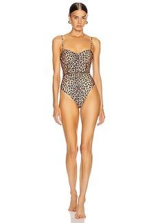 JONATHAN SIMKHAI Bustier Swimsuit
