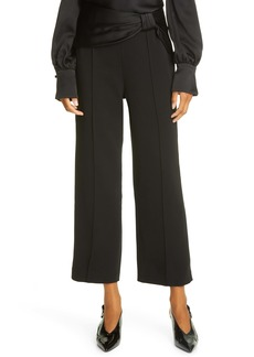 Jonathan Simkhai Crop Flare Dress Pants